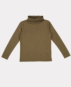 카라멜 PHEASANT TURTLENECK-KHAKI