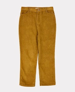 카라멜 CROW TROUSERS-MUSTARD