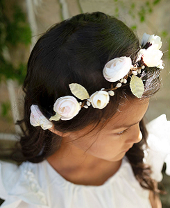 Lou Flowercrown_Ivory
