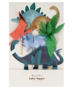 메리메리 Dinosaur Kingdom Cake Toppers