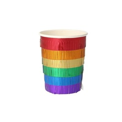 메리메리 Rainbow Fringe Party Cups