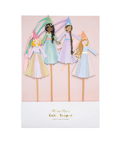 메리메리 	Magical Princess Cake Toppers