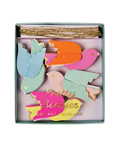 메리메리 Pretty Birds Mini Garland