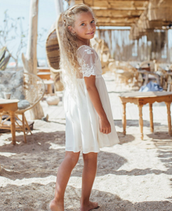 Lucie Dress_Ivory