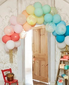 메리메리 Rainbow Balloon Arch Kit