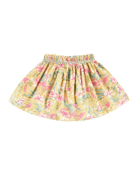 루이스미샤  Salina Skirt-Soft Honey Parrots