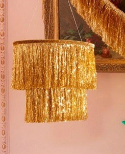 메리메리 Gold Tinsel Chandelier