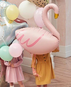 메리메리 Flamingo Mylar Balloon