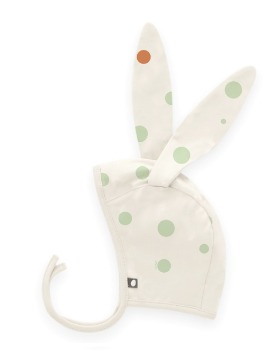 bunny bonnet (burnt orange)