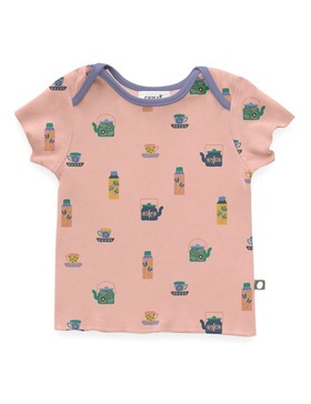 baby tee shirt (mellow rose)