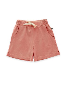 [OEUF] play shorts (punch pink)