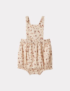 CLAM BABY ROMPER (DITSY FLORAL)