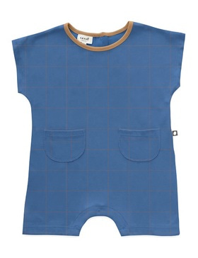 square romper (sky blue)