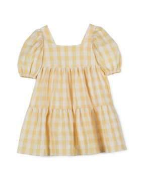 [MIPOUNET] VICHY PLEATED DRESS