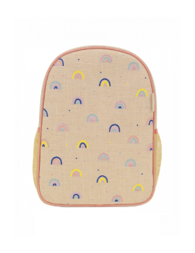 [SOYOUNG] TODDLER BACKPACK (RAINBOWS)