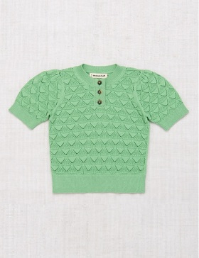 [MISHA&PUFF] Shell Pattern Top (Peapod)