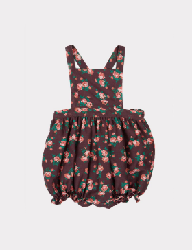 [CARAMEL] CLAM BABY ROMPER _BRIGHT FLORAL
