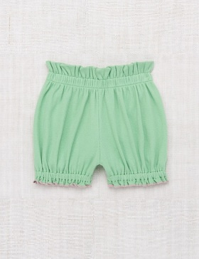 [MISHA&PUFF] Ribbed Bubble Shorts (Peapod)