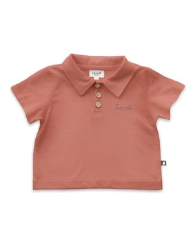 [OEUF] polo (punch pink)