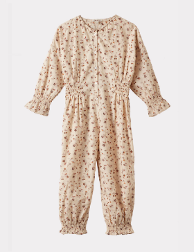 [CARAMEL] ANEMONE JUMPSUIT (DITSY FLORAL)