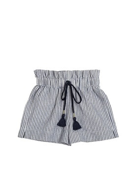 [CERA UNA VOLTA] Lulu Short Striped Blu